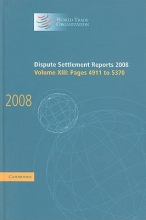 World Trade Organization Dispute Settlement Reports, Volume XIII