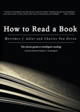 Adler, Mortimer Jerome,   Van Doren, Charles Lincoln How to Read a Book