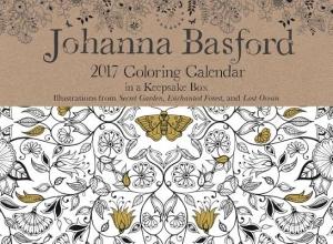Johanna Basford 2017 Coloring Calendar