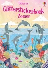 , Glitterstickerboek zomer