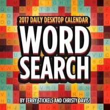 Stickels, Terry,   Davis, Christy Word Search 2017 Calendar
