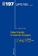 M. Luisa Roca-Varela False Friends in Learner Corpora