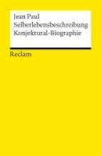 Paul, Jean Selberlebensbeschreibung. Konjektural-Biographie