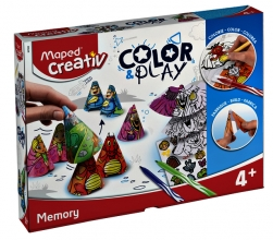 , Knutselset Maped Color&Play ontwerp je eigen memory