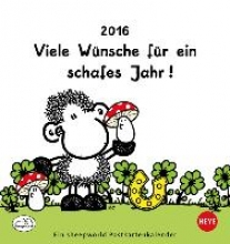 Sheepworld 2016 Postkartenkalender