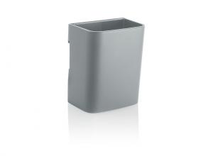 , Pennenbak S Sigel             voor glasborden van 3 tot 5mm                               licht grijs 75x94x51mm