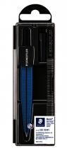 , Passer Staedtler 550 Noris schoolpasser metallic blauw
