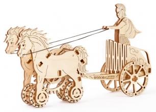 , Romeinse strijdwagen 3D puzzel
