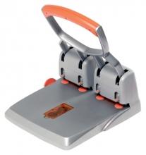 , Perforator Rapid HDC150 4-gaats 150vel zilver/oranje