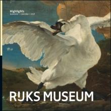 , Rijksmuseum Highlights maandkalender 2021
