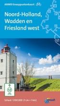 Fietsknooppuntkaart Noord-Holland, Wadden en Friesland west