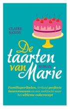 Sandy, Claire De taarten van Marie  + receptenschrift