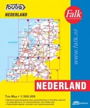 , Falk autokaart Nederland Routiq