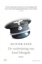 Olivier Guez , De verdwijning van Josef Mengele