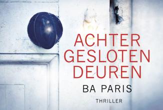 B.A.  Paris Achter gesloten deuren DL