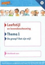 Odile van Eck, Sabien  Onvlee, Paula  Wessels Leefstijl en levensbeschouwing 8 Thema 1 Werkboek
