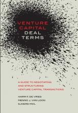 Harm F. de Vries, Menno J. van Loon, Sjoerd  Mol Venture Capital Deal Terms