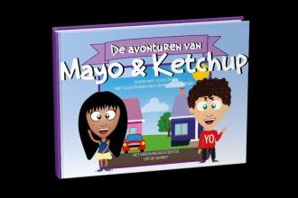 Amy  Scholten De verhalen van Mayo en Ketchup