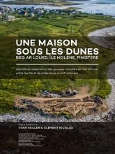 , Une maison sous les dunes : Beg ar Loued, île Molène, Finistère