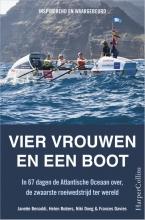 Janette  Benaddi, Helene  Butters, Niki  Doeg, Frances  Davies Vier vrouwen en een boot