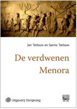 Jan  Terlouw, Sanne  Terlouw De verdwenen menora - grote letter uitgave