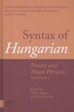 Syntax of Hungarian, Nouns and Noun Phrases, Volume 1