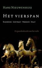 Hans  Nieuwenhuis Het vierspan eigendom, contract, persoon, staat