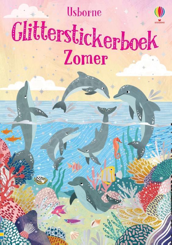 ,Glitterstickerboek zomer