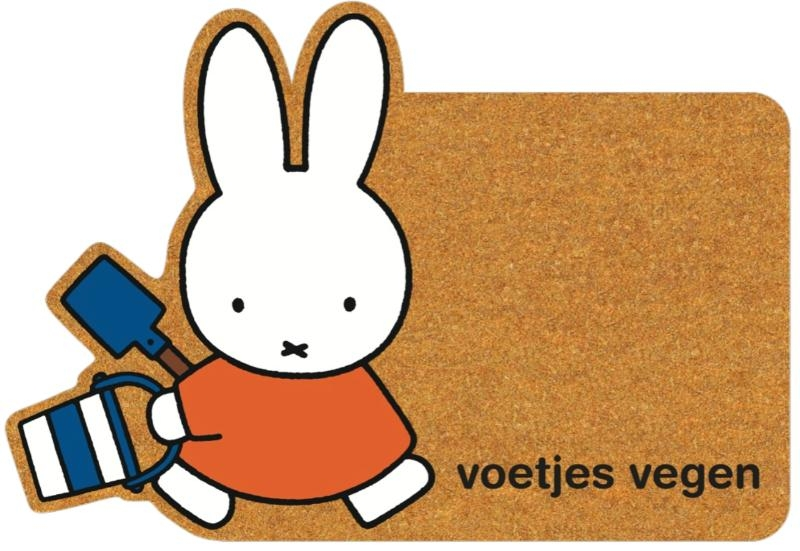 ,Voetjes vegen fococo tapijt Nijntje