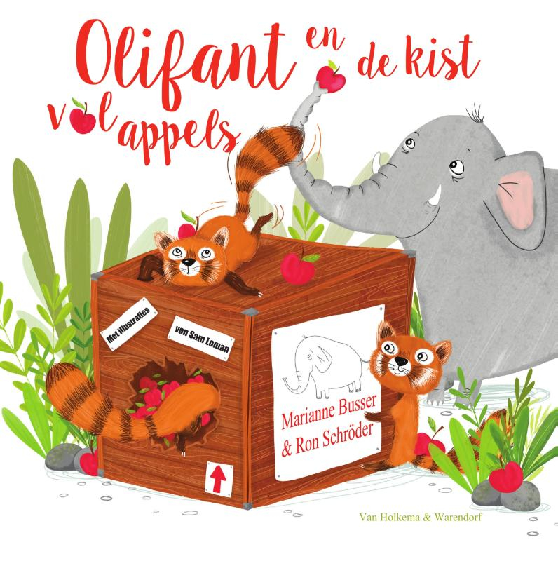 Marianne Busser, Ron Schröder,Olifant en de kist vol appels