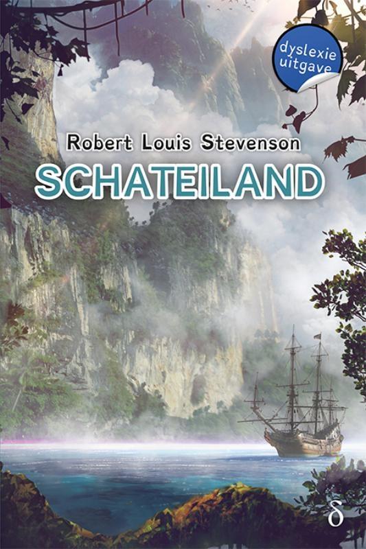 Robert Louis  Stevenson,Schateiland-dyslexie uitgave