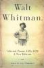 Whitman, Walt,Walt Whitman