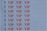 ,Polsbandje CombiCraft met opdruk VIP wit