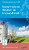 ,Fietsknooppuntkaart Noord-Holland, Wadden en Friesland west