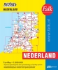 ,Falk autokaart Nederland Routiq