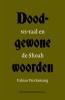 <b>Fabian  Van Samang</b>,Doodgewone woorden