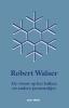 Robert  Walser, ,De vrouw op het balkon