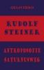 Adriaan  Bekman ,Rudolf Steiner - Antroposofie - Saturnusweg