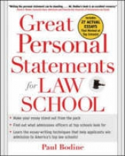 Bodine, Paul Great Personal Statements for Law School