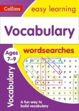 Collins Easy Learning Vocabulary Word Searches Ages 7-9