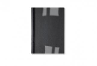, Thermische omslag GBC A4 1.5mm linnen zwart 100stuks