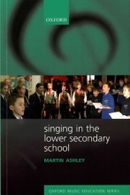 Martin Ashley Singing in the Lower Secondary School