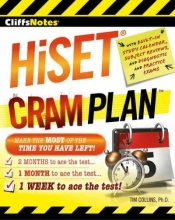 Collins, Tim, Ph.D. CliffsNotes HiSET Cram Plan