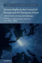 Greer, Steven,   Gerards, Janneke,   Slowe, Rosie Human Rights in the Council of Europe and the European Union
