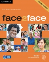 Redston, Chris face2face Starter Student`s Book with DVD-ROM