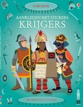 Aankleden met stickers-krijgers