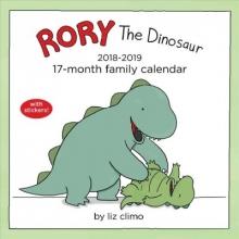 Climo, Liz Rory the Dinosaur 2018-2019 Calendar