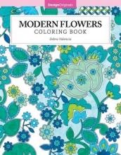 Debra Valencia Modern Flowers Coloring Book