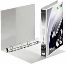 , Presentatieringband Leitz SoftClick A4 Maxi 4-rings D-mech 20mm wit
