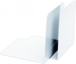 , boekensteun Alco 85x140x140mm metaal 2 stuks in doos wit